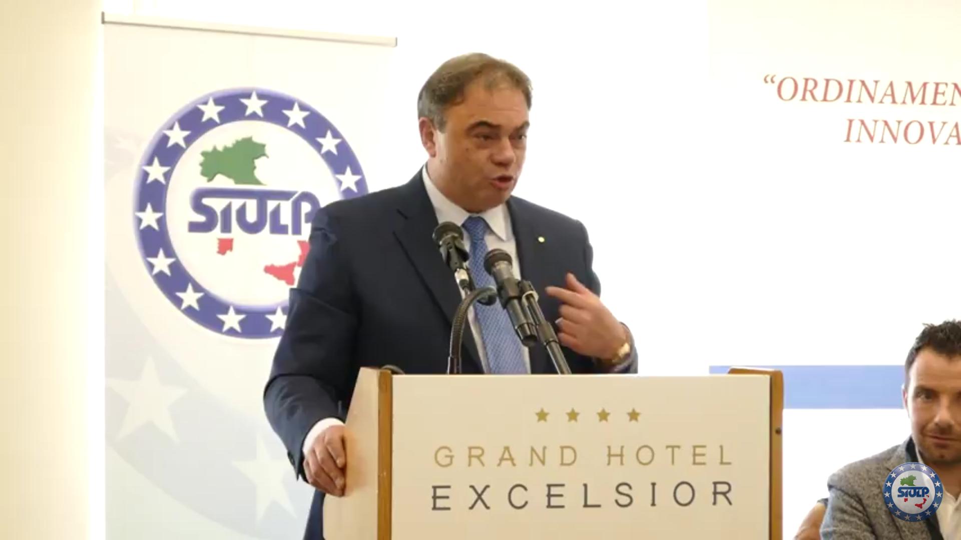 INTERVENTO DEL SEGRETARIO GENERALE NAZIONALE SIULP – FELICE ROMANO